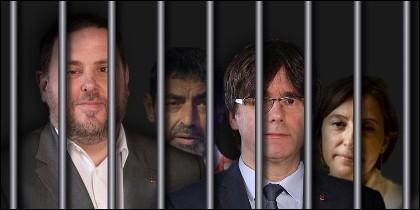 ¿El futuro que espera a Junqueras, Trapero, Puigdemont y Forcadell?