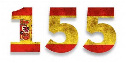 El artículo 155 de la Constitución Española se aplica a Cataluña.