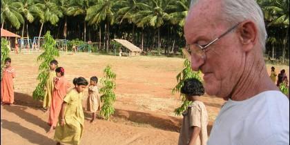El padre James Kimpton, fallecido el 5 de octubre