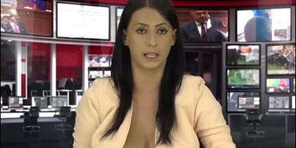 Presentadora de TV
