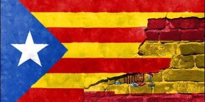 España y Cataluña.