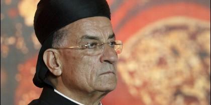 El cardenal Bechara Rai, patriarca maronita