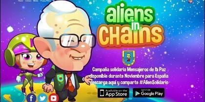 El padre Ángel, en Aliens in Chains