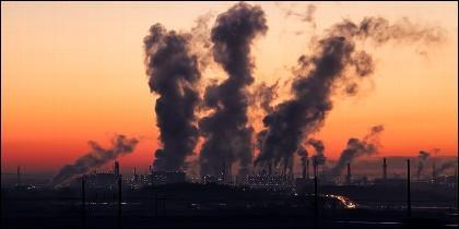 Cambio climático, calentamiento, clima y contaminación atmosférica,