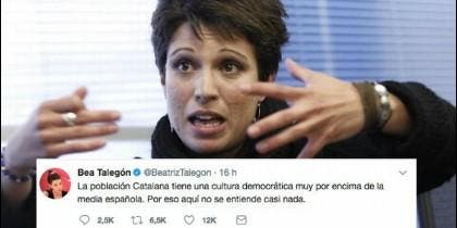 Beatriz Talegón.