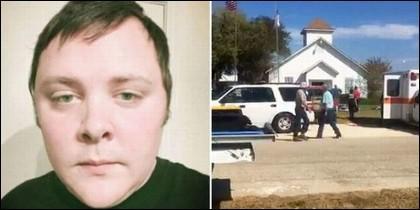 Devin Kelley, el asesino de la matanza en la iglesia baptista de Texas.