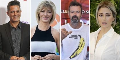 Ganadores de los Premios Ondas 2017: Alejandro Sanz, Susanna Griso, Jarabe de Palo y Blanca Suárez.