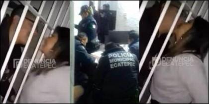 Policías encarcelan a mujeres y piden besos y favores sexuales