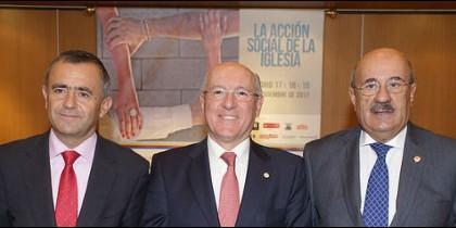 Giménez Barriocanal, Carlos Romero y Rafael Ortega