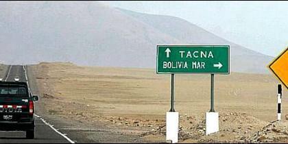 Bolivia sigue insistiendo en su salida al mar desde Chile