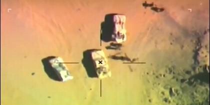 Ataque aéreo en el Sinaí