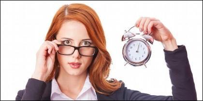 Hora, horario, puntualidad.