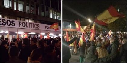 Imágenes de la concentración en Sant Cugat del Vallés.