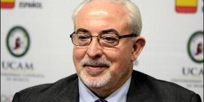 José Luis Mendoza, presidente de la Universidad Católica de Murcia