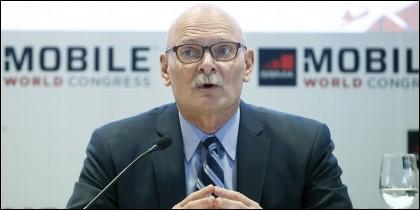 El consejero delegado de GSMA, John Hoffman.