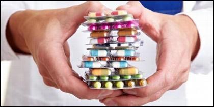 Medicina, farmacia, medicamento, negocio y salud.