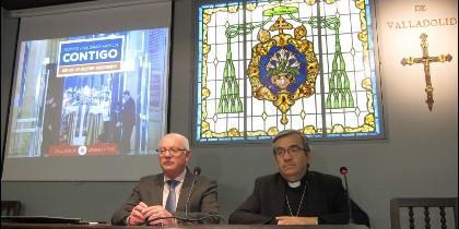 Argüello, obispo auxiliar de Valladolid y Conde, ecónomo de la diócesis