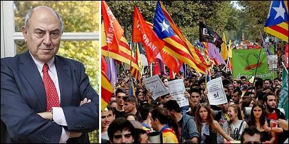 José Antonio Marina; y universitarios catalanes en huelga.