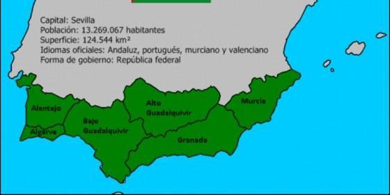 La 'República virtual de Andalucía'.