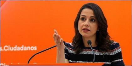 Inés Arrimadas (Ciudadanos -CS).