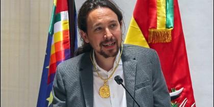Pablo Iglesias en Bolivia