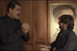 Jordi Évole y Nicolás Maduro.