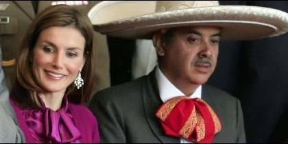 Letizia regresa a Mexico