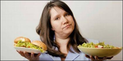 Comer, dieta, tristeza, ansiedad.