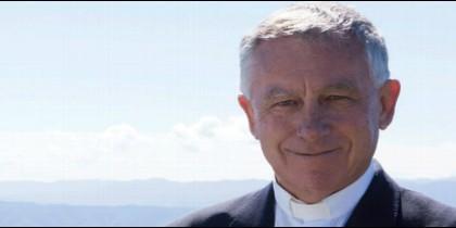 El cardenal John Dew, arzobispo de Wellington, Nueva Zelanda