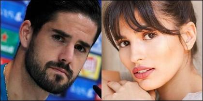 Isco Alarcón (REAL MADRID) y la actriz Sara Sálamo.