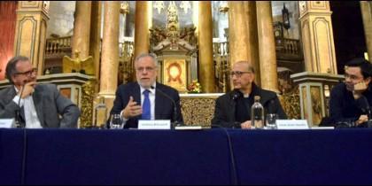 Riccardi y Omella, en Barcelona