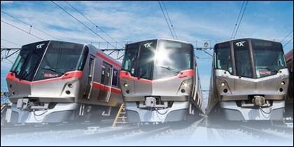 El tren Tsukuba Express, en Japón.