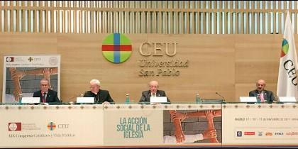 Inauguración del XIX Congreso Católicos y Vida Pública