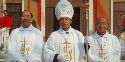 Toma de posesión del obispo de Handan
