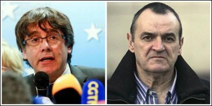 El sedicioso Carles Puigdemont y el etarra De Juana Chaos.