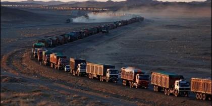 Atasco camiones