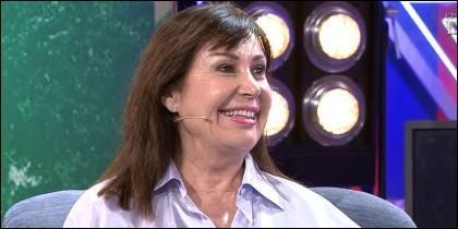 Carmen Martínez-Bordiú  en 'Sálvame' de Telecinco