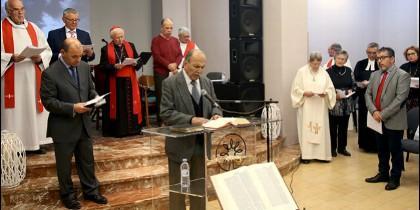 Liturgia por la reconciliación entre cristianos en Valencia