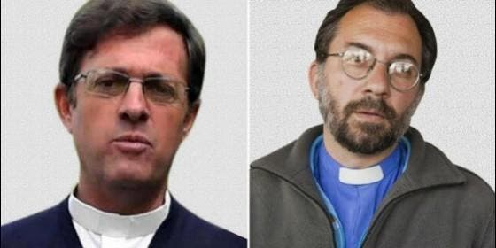 Los nuevos obispos Jorge Ignacio García Cuerva y Gustavo Oscar Carrara
