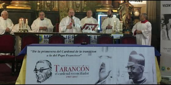 Los cardenales Osoro, Maradiaga y Sistach presidieron la Eucaristía en honor de Tarancón