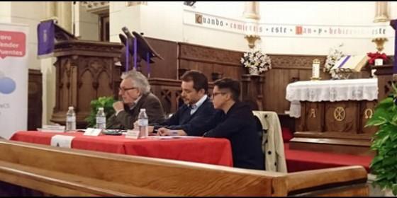 Foro 'Reforma, democracia y socialismo' en la catedral anglicana de Madrid