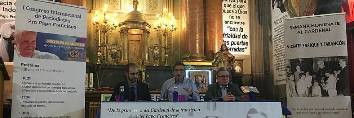 Presentación de la Declaración Final del I Encuentro Internacional de Periodistas Pro Papa Francisco
