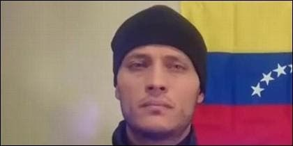 El rebelde venezolano Óscar Pérez.