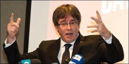 Carles Puigdemont, expresidente autonómico de Cataluña.