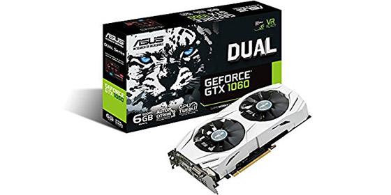 ASUS DUAL-GTX1060-6G Cyber Monday