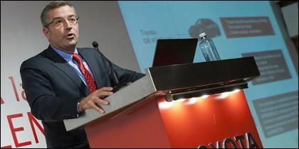 Presidente y CEO de Toyota España, Agustín Martín
