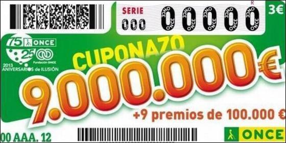 Cinco senadores del pp ganan el 39 cuponazo 39 de la once for El cuponazo de la once