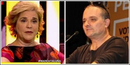 Pilar Rahola y Toni Albà.