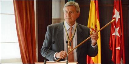 José Joven Sanz en la toma de posesión.