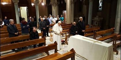El Papa rezó por el hermano Mura